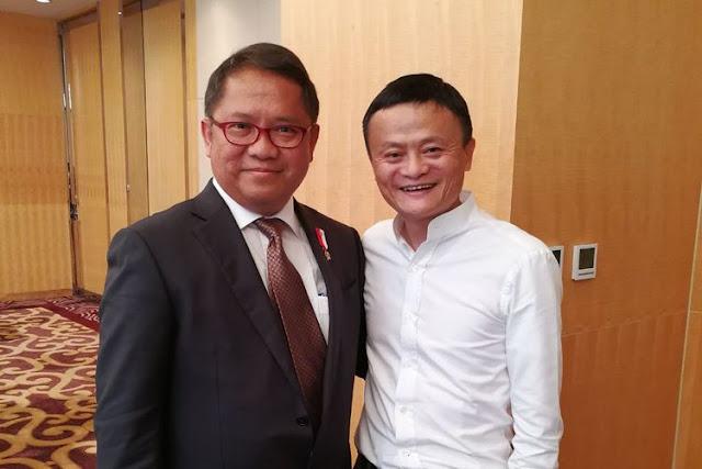 Jack Ma Resmi Menjadi Penasihat Urusan e-Commerce Indonesia