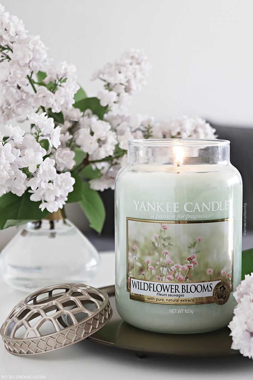 yankee candle wildflower blooms floral candle