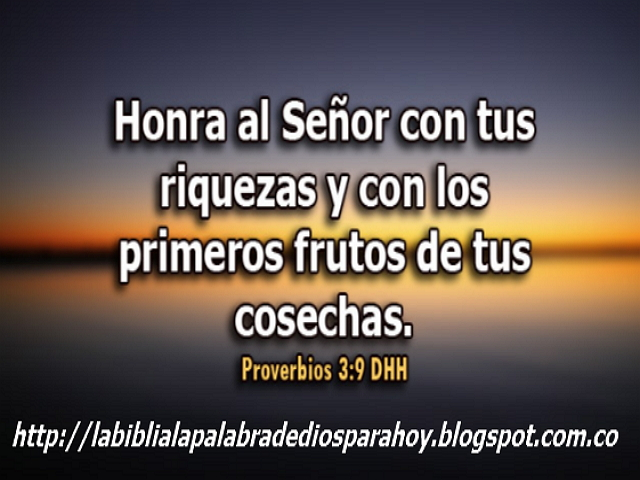 """""""Oración a Dios por la familia""""-Proverbios 3 9"""