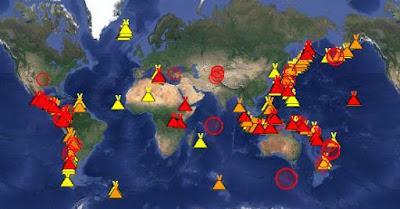 Live Volcano Map