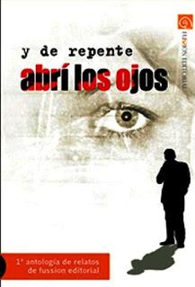 """Portada """"Y de repente abrí los ojos""""coautor Fransánchez"""