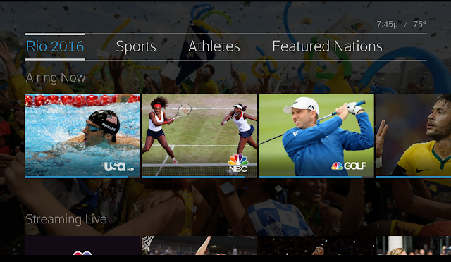 Xfinity X1 Enhances the viewing experience for the summer games in Rio