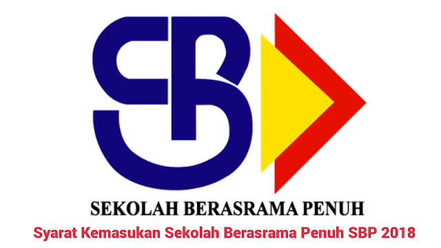 Syarat Kemasukan Sekolah Berasrama Penuh SBP 2018