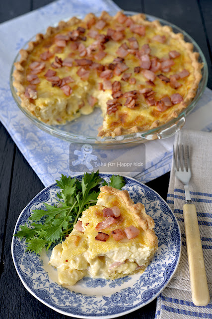 apple bacon gruyere cheese quiche
