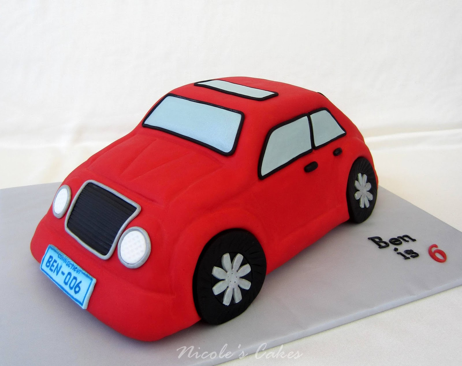 Confections Cakes Creations 3 D Car Cake