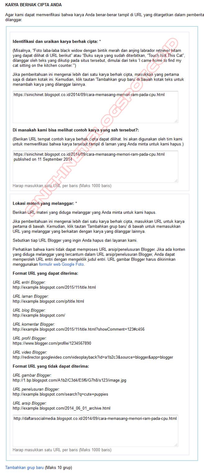 cara mudah melaporkan blog tukang copas, tips lapor blog copy paste ke Google DMCA, cara ampuh agar blog copas Dihapus, blog tukang jiplak artikel