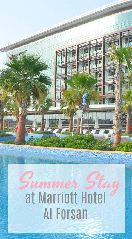 Summer Stay at Marriott Hotel Al Forsan