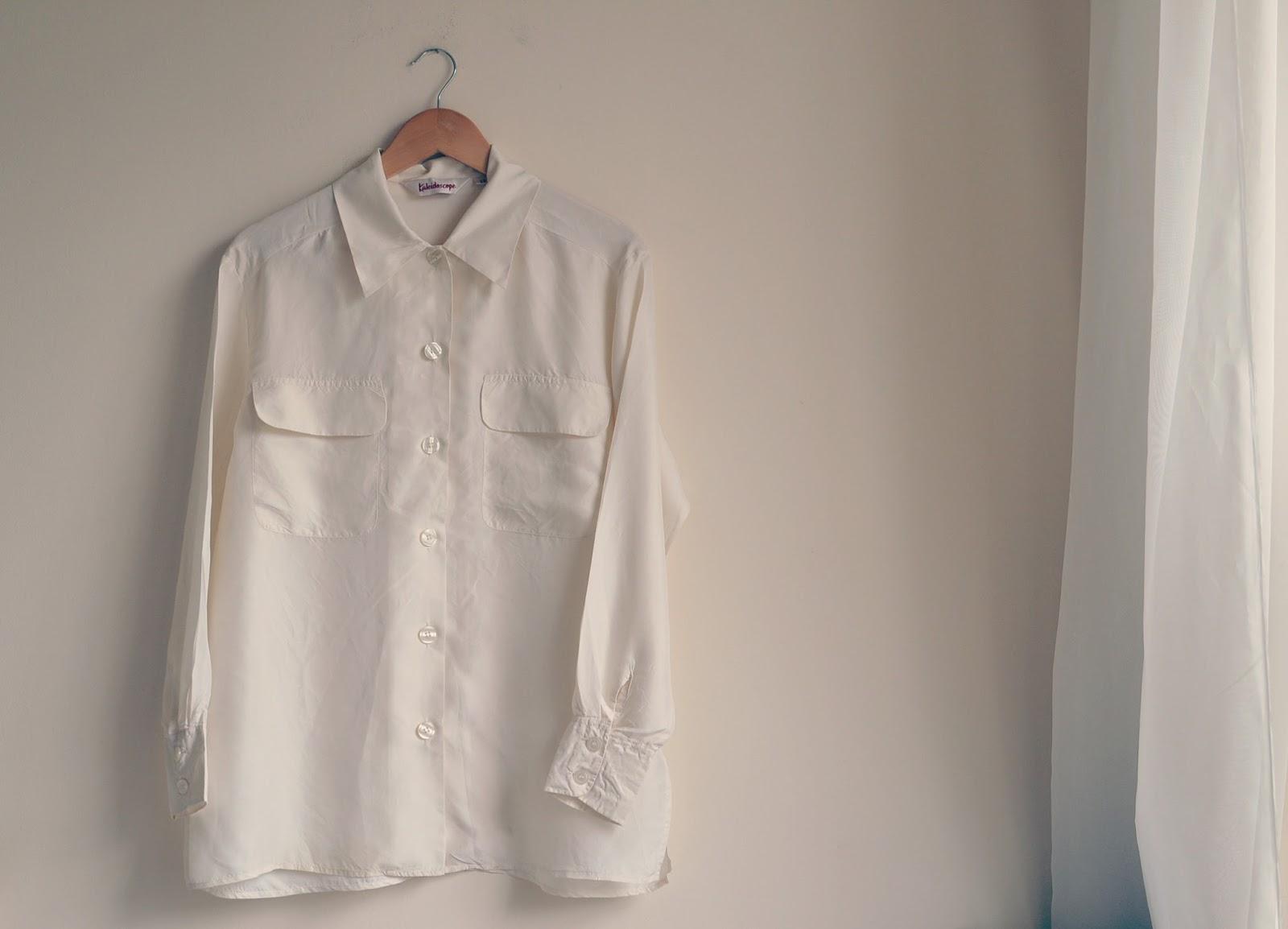 Vintage Silk Shirt Bristol Textile Recyclers vintage fashion