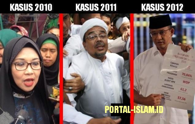 Penghambat Petahana Dijegal: Sylvi Diperiksa, Habib Rizieq Tersangka, Anies Baswedan Dilaporkan ke KPK