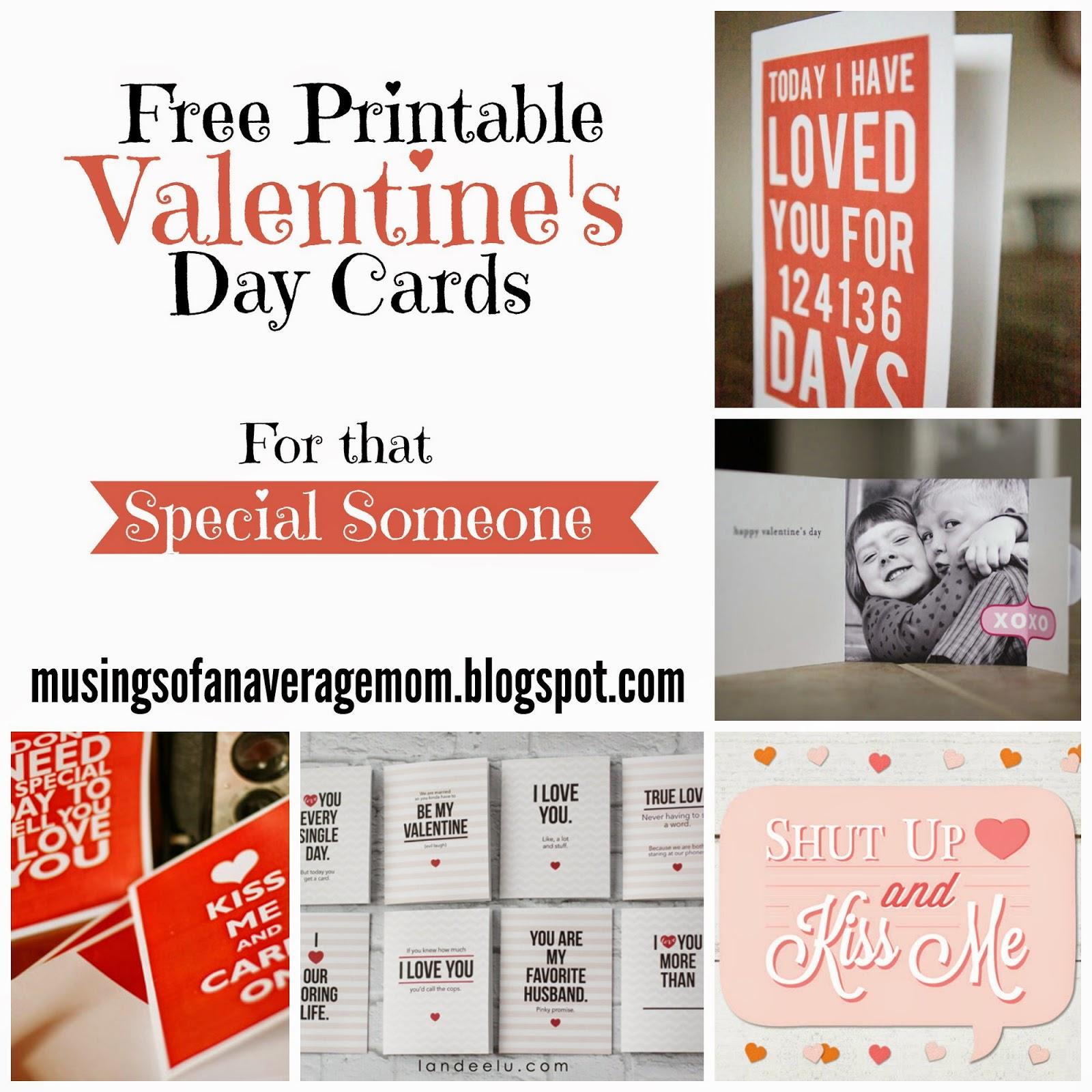card valentine Adult free printable