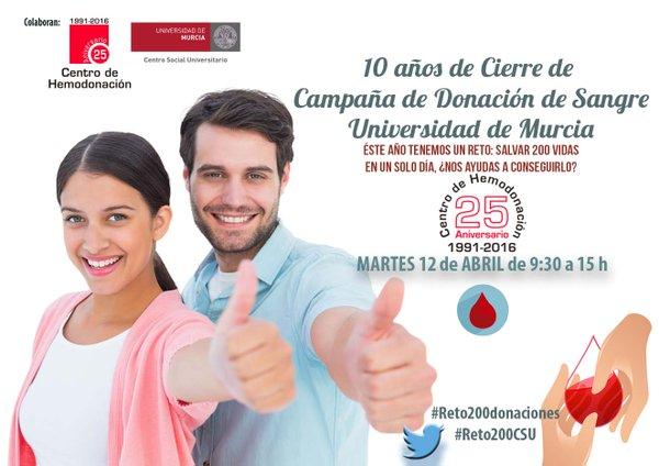 Cierre de Campaña de Donación de sangre del Centro Regional de Hemodonación.