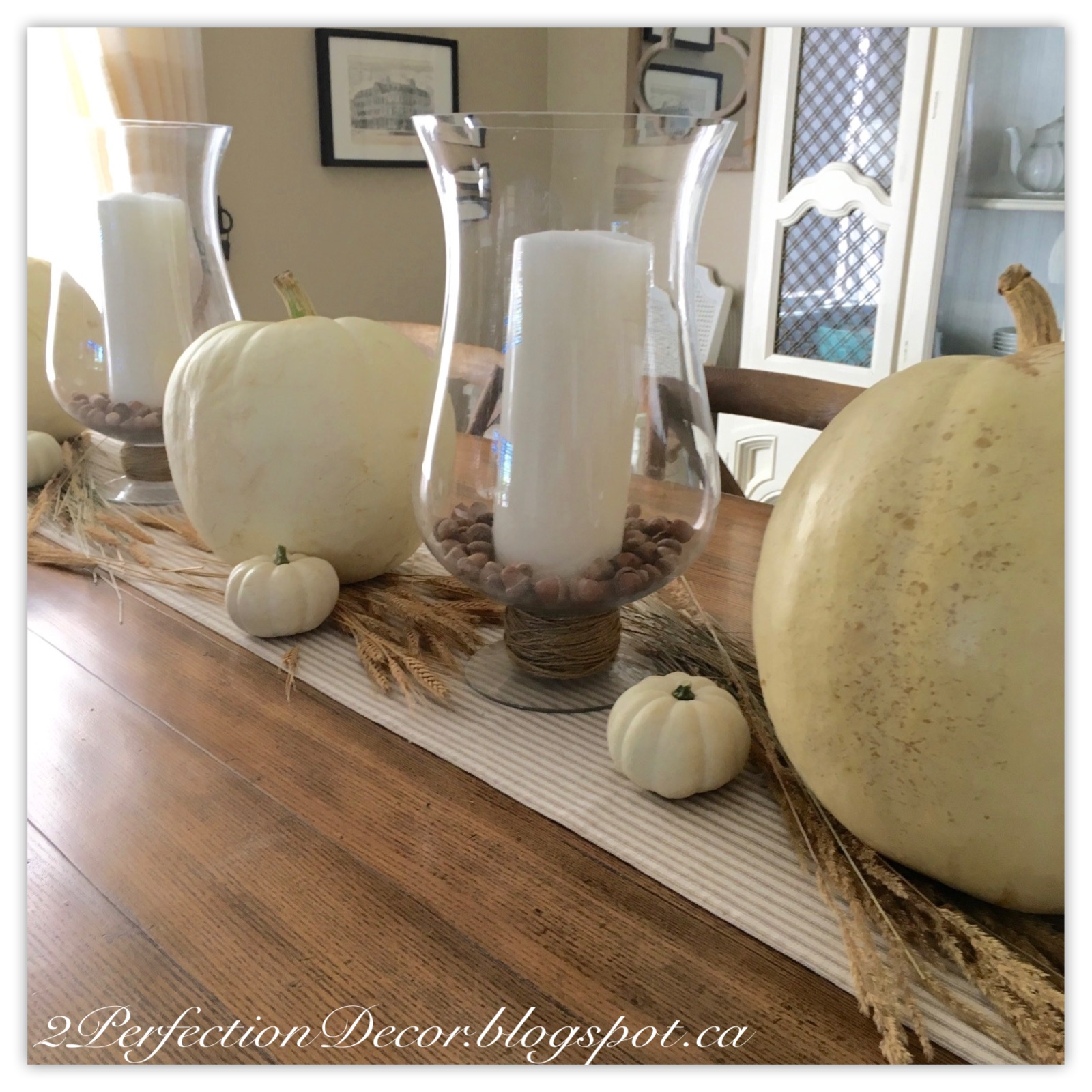 Fall Decorating Ideas For The Dining Room: 2Perfection Decor: Dining Room Decorated For Fall