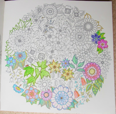 image secret garden colouring book johanna basford