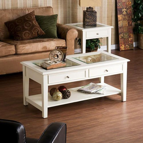 Glass Top Display Case Coffee Tables
