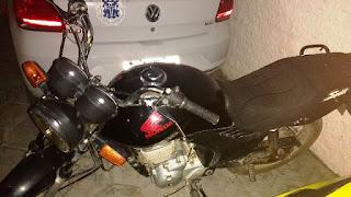 Polícia recupera moto