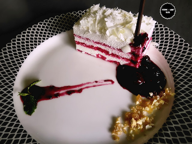 Raspberry Cheese Cake @Biergarten | Whitefield | Bangalore