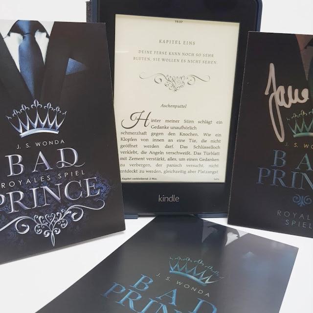 BAD PRINCE: Royales Spiel - J. S. Wonda