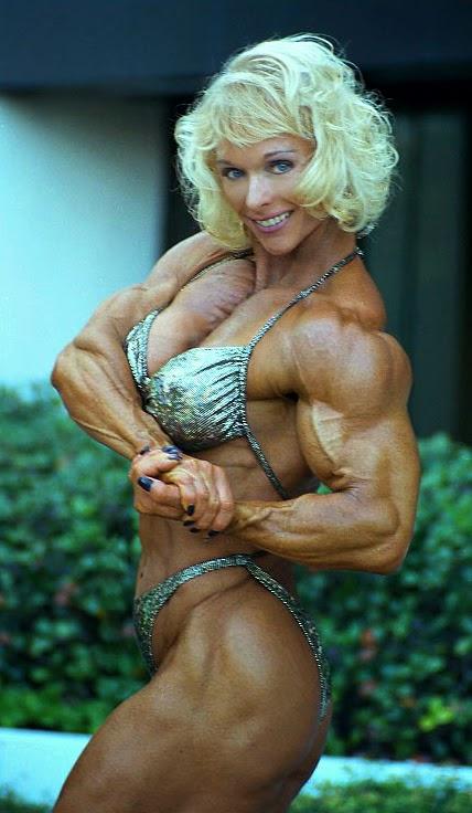 80's Female Muscle: Judy Miller