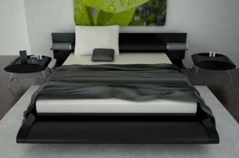black and white bedroom set c 243 mo decorar el dormitorio de color negro decorar tu 18336