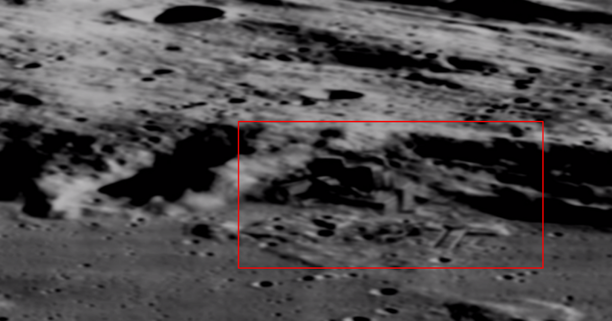 Evidence Of Mining On The Moon In NASA Photos