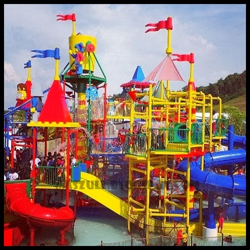 Wordless Wednesday # 410....Legoland Water Park