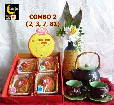 Hộp bánh trung thu Kinh Đô Sông Đáy combo 2