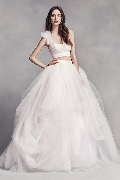 K'Mich Weddings - wedding dress - separates - Vera Wang