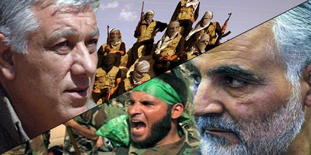 PKK KDP Şii Haşdi Şabi Şengal Sincar İran YBŞ Kürdistan