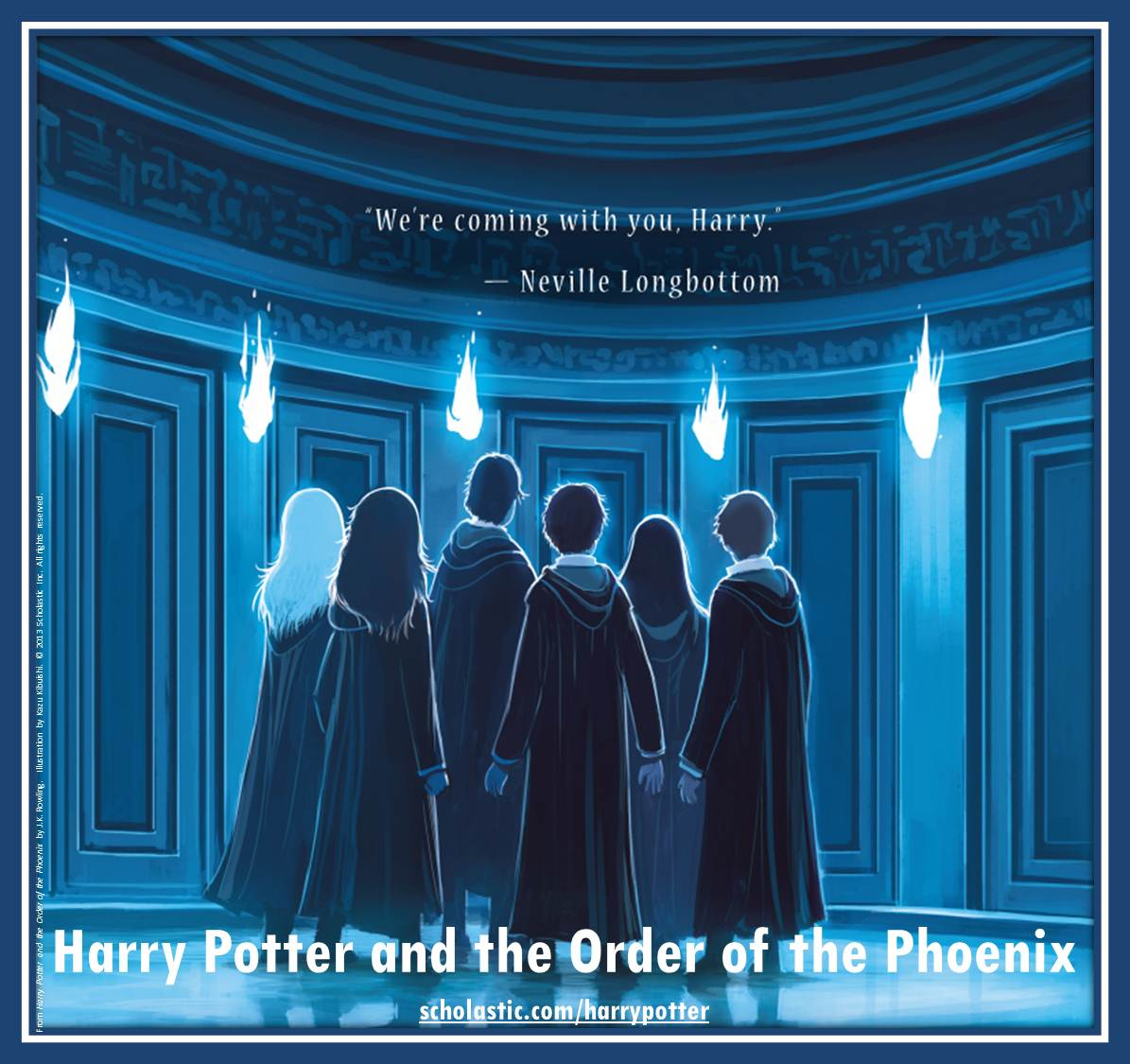 Harry Potter and the Order of the Phoenix back cover by Kazu Kibuishi