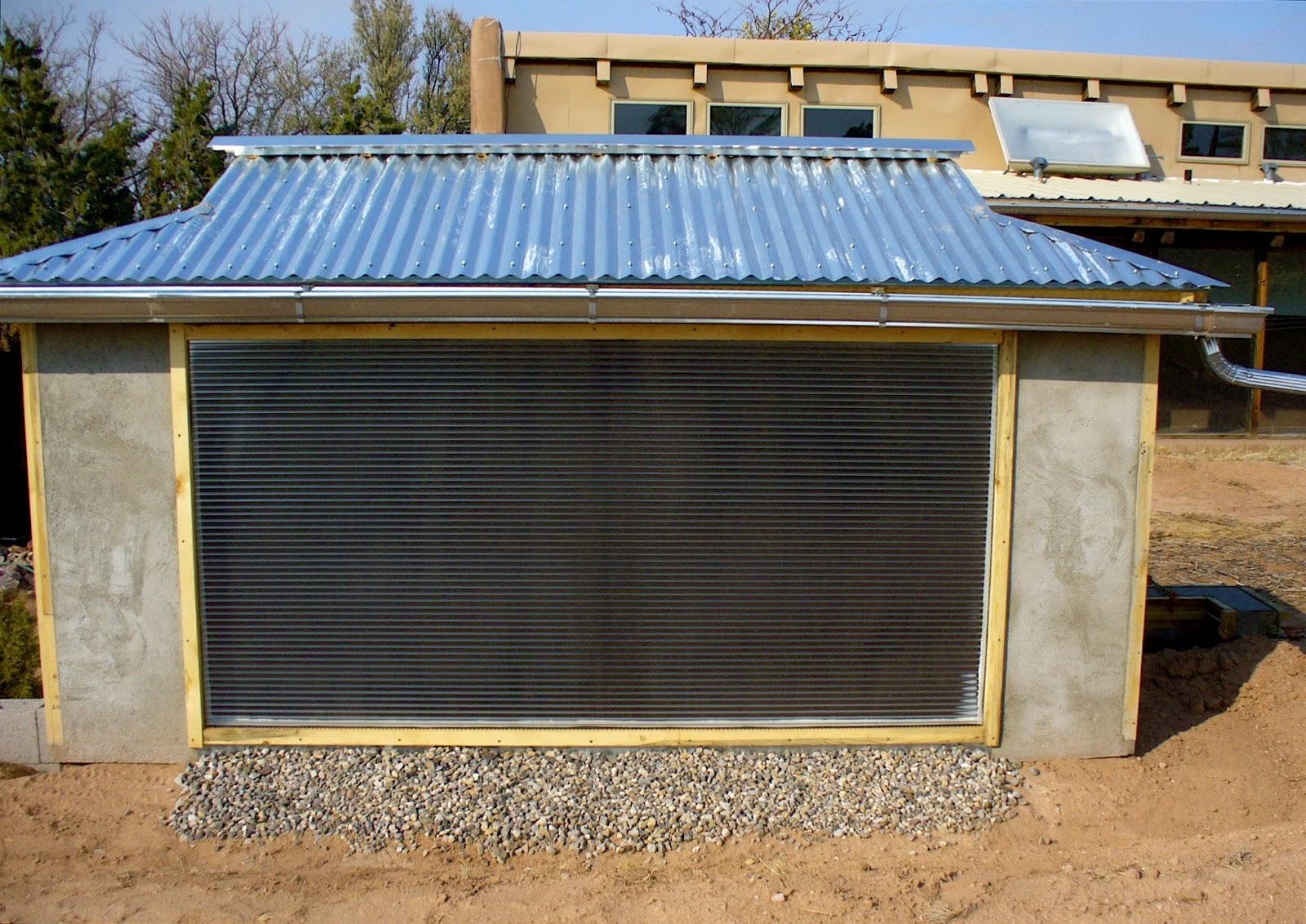 Build It Solar Blog Building A Solar Heated Well House