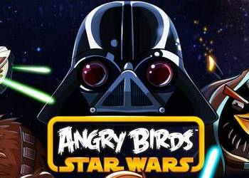 successful mobile game Angry Birds feathered with Star Wars universe