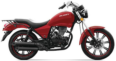 Eider Ruddy 150cc  Cruiser red HD Image