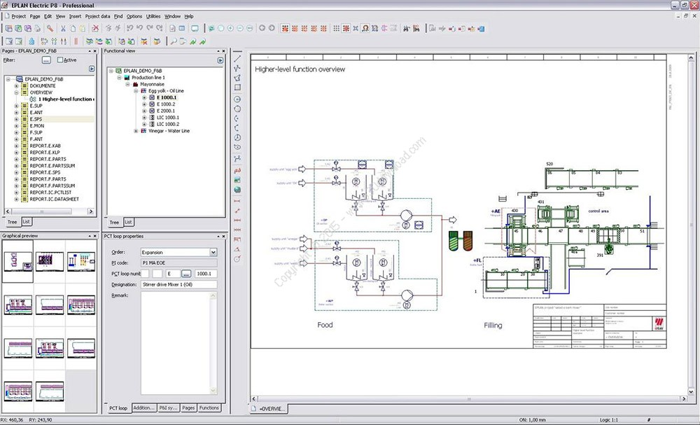 Eplan electric p8 v2 6 3 essential engineering software for What is eplan software
