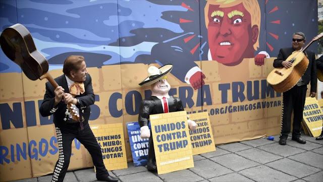 Estadounidenses en México lanzan campaña anti-Trump