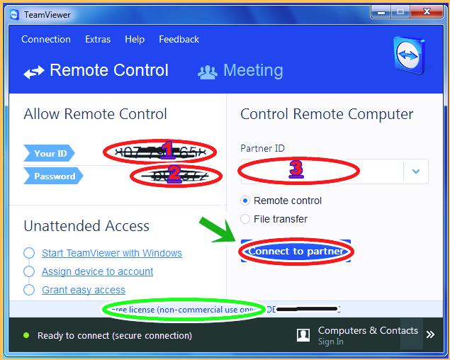Gambar dan Cara Menyeting TeamViewer pada Komputer