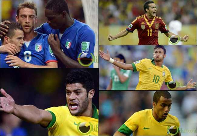 20 Pemain Sepakbola Termahal di Piala Konfederasi 2013