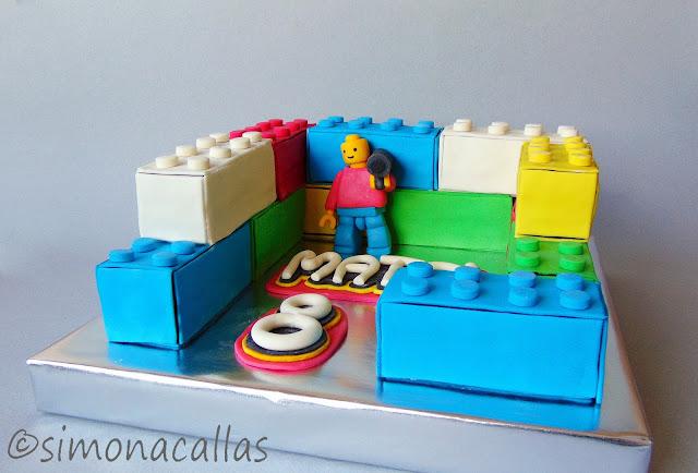 Tort Lego Lego Cake 2
