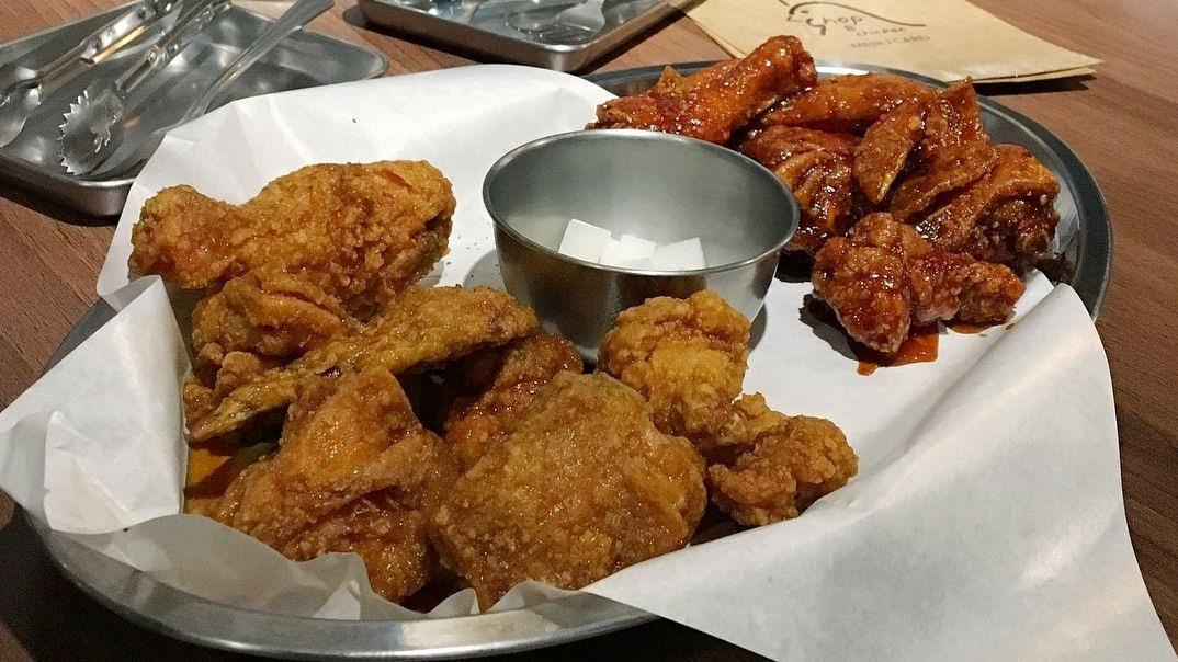 台南美食中西區Chicken shop正宗韓國歐爸開的韓國炸雞專賣店