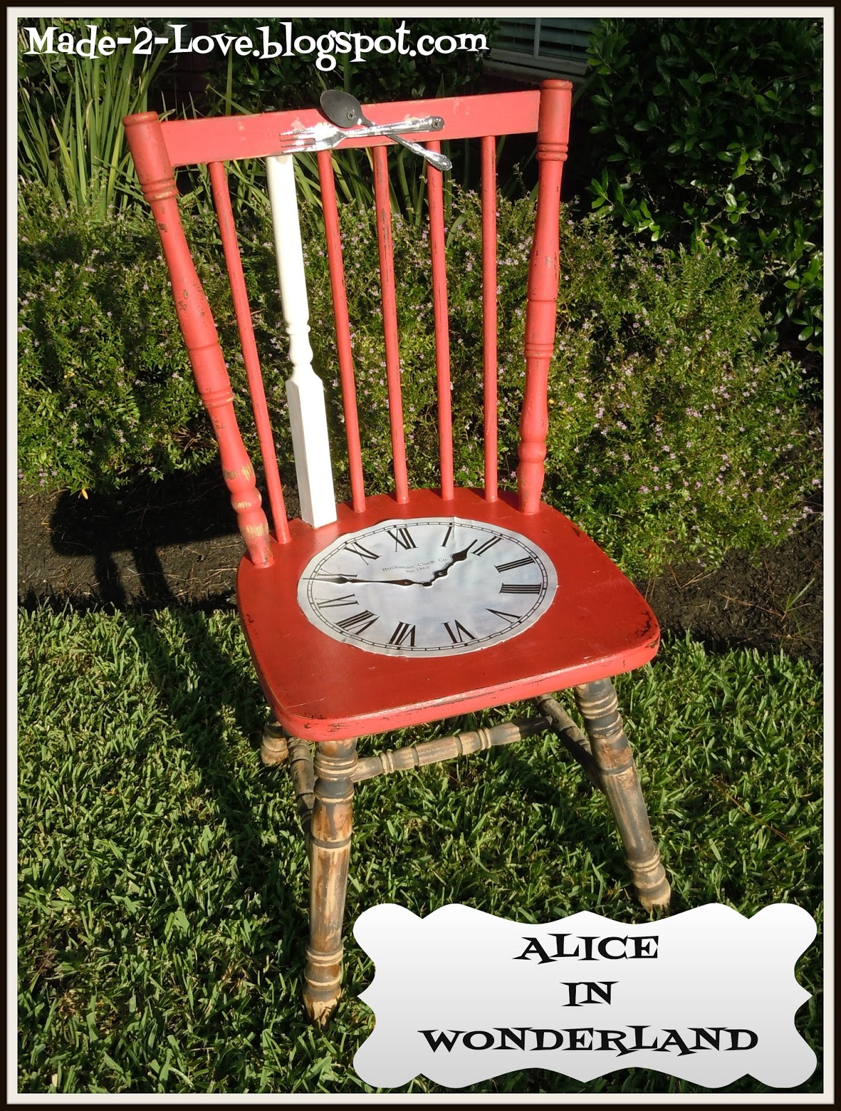 Alice In Wonderland Chair Folding Kitchen Made To Love Inspired Quotchair Quot