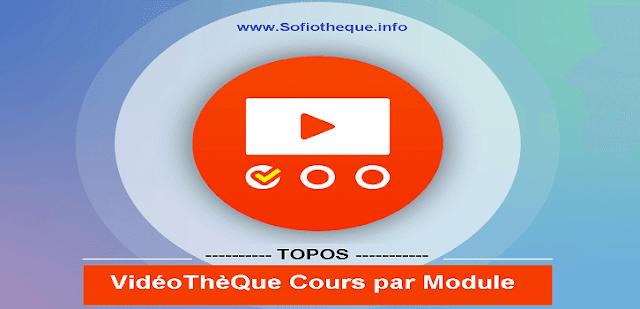VidéoThèQue Topos cours Médecine par module