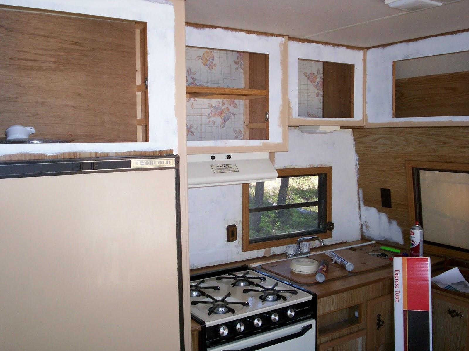 Painting Travel Trailer Cabinets | Joshymomo org