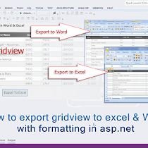 How to export selected rows from gridview to excel in asp