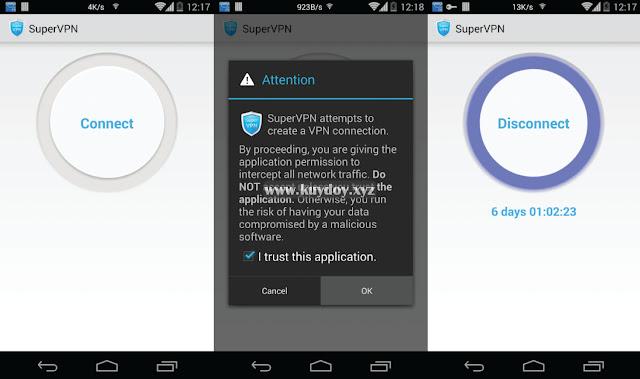 Aplikasi VPN Terbaik Untuk Android Terbaru 2019