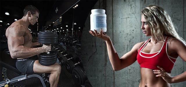 Suplementación y pesas para ganar masa muscular