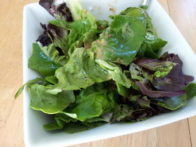 A homemade salad dressing is easy and delicious