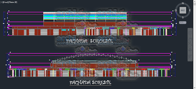 download-autocad-cad-dwg-file-Architectural-Center-cultural