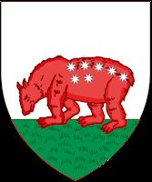 Primer escudo de la ciudad de Madrid con la osa y las estrellas - 1222