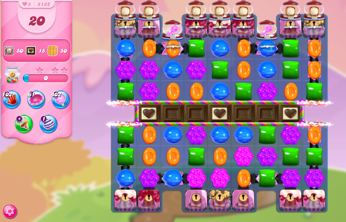 Candy Crush Saga level 5132