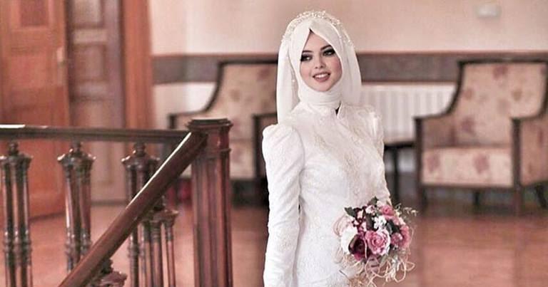e72d941f32f Robe hijab turque pour mariée 2016 - 2017 - Hijab Fashion and Chic Style