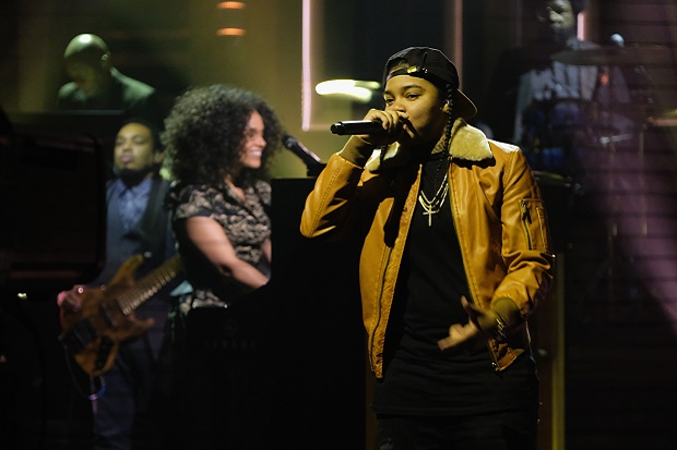 "VÍDEO - ALICIA KEYS, YOUNG M.A & THE ROOTS PERFORM ""BLENDED FAMILY"" ON 'THE TONIGHT SHOW'"